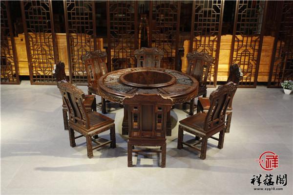 红木餐桌搭配什么椅子好看 红木餐椅搭配方法大全