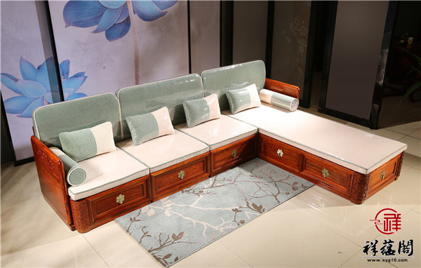 客厅红木沙发 酒柜用什么颜色的比较有气质