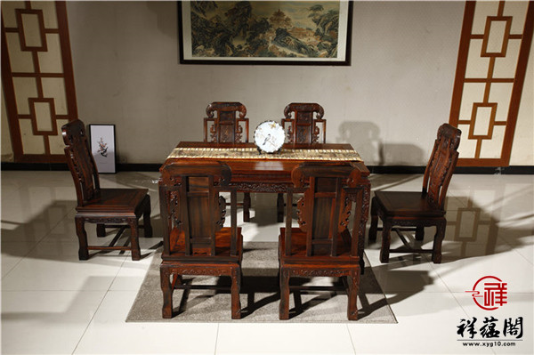 红木餐桌大小参考标准