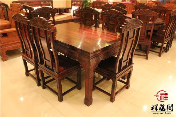黑酸枝餐椅有什么特点 黑酸枝餐椅如何选购