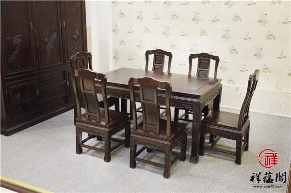 黑酸枝餐桌椅分类及价格大全