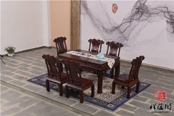 黑酸枝木餐桌优点介绍