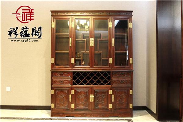 红木酒柜尺寸规格常见的是怎样的?