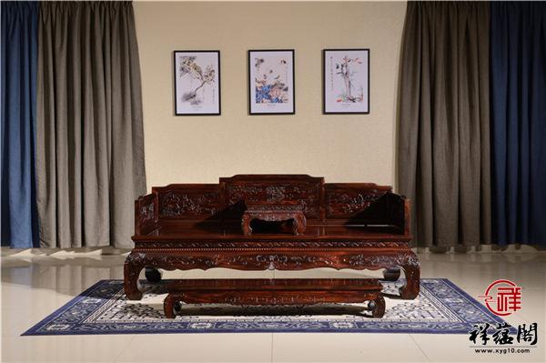 黑酸枝罗汉床多少钱