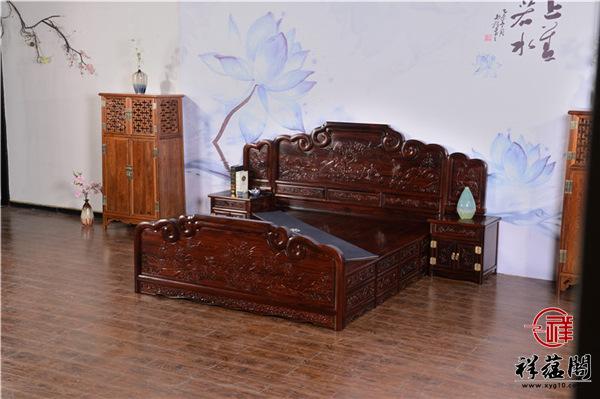 黑酸枝木床价格是多少