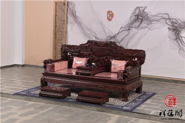 印尼黑酸枝罗汉床价格及尺寸大全