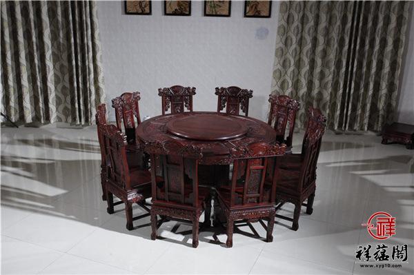 黑酸枝餐桌多少钱一套