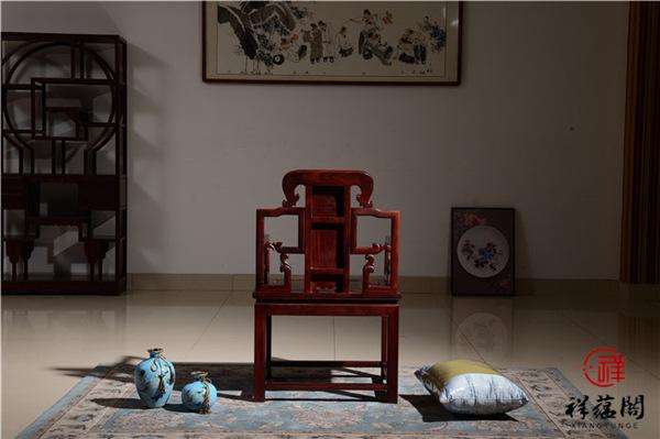 黑酸枝太师椅图片及价格介绍