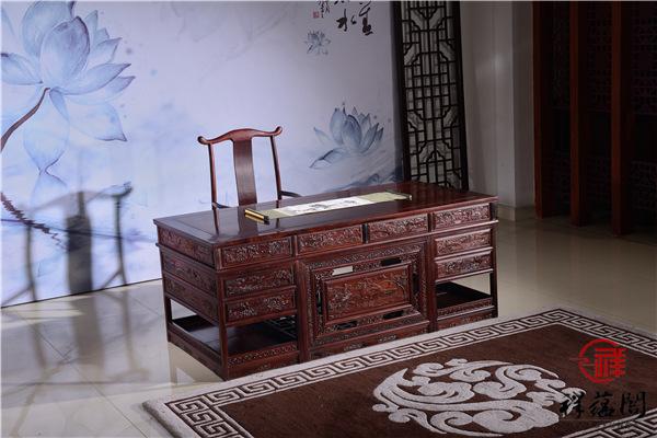印尼黑酸枝办公桌优缺点介绍