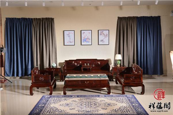 新款黑酸枝沙发特点及价格大全