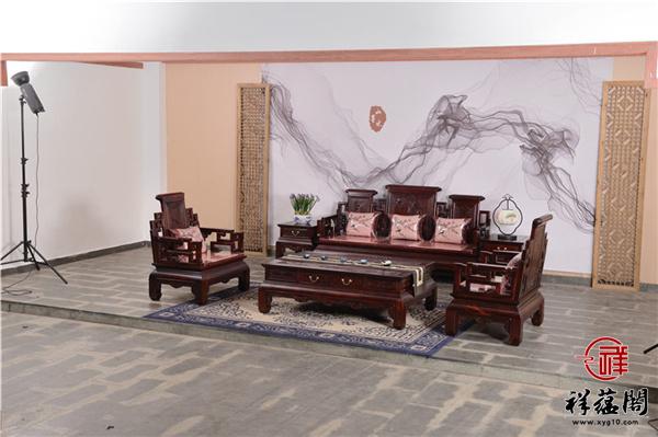 印尼黑酸枝沙发图片及价格大全