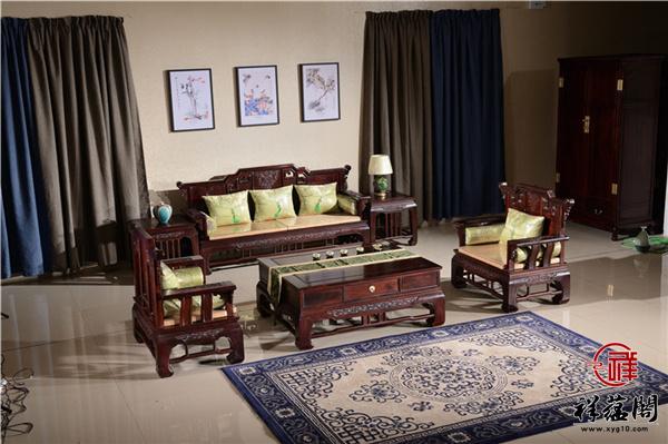 印尼黑酸枝沙发图片欣赏