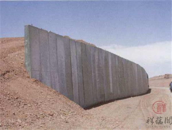 【挡土墙】挡土墙类型以及挡土墙施工