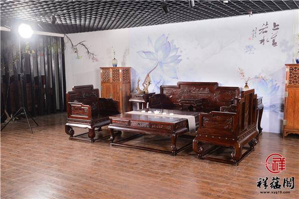 黑酸枝六件套沙发价格及选购注意事项