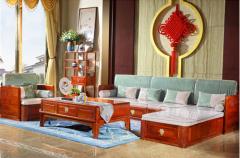 红木家具搭配什么窗帘