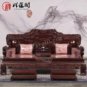 红木家具搭配什么颜色窗帘
