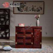 红木家具搭配什么鞋柜