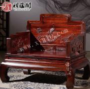 红木家具搭配什么颜色的窗帘好看