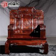 红木家具搭配什么颜色床品