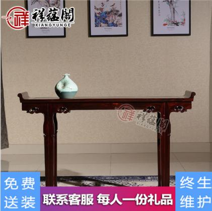 2019最新款中堂红木家具如何布局【最全图片】