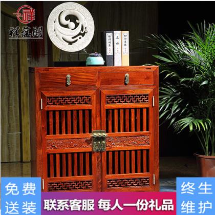 最新款红木家具鞋柜的价格是多少【最全图片】